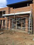Aluminium scaffold run for light brick work – Hills District